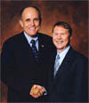 Rudy Giuliani and Don Parrish